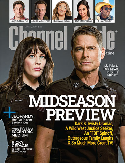 Channel Guide Magazine a monthly TV magazine